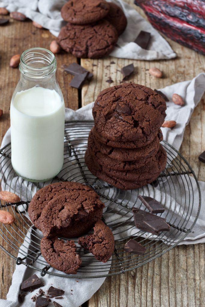 Einfaches Schoko Cookies Rezept von Sweets & Lifestyle®