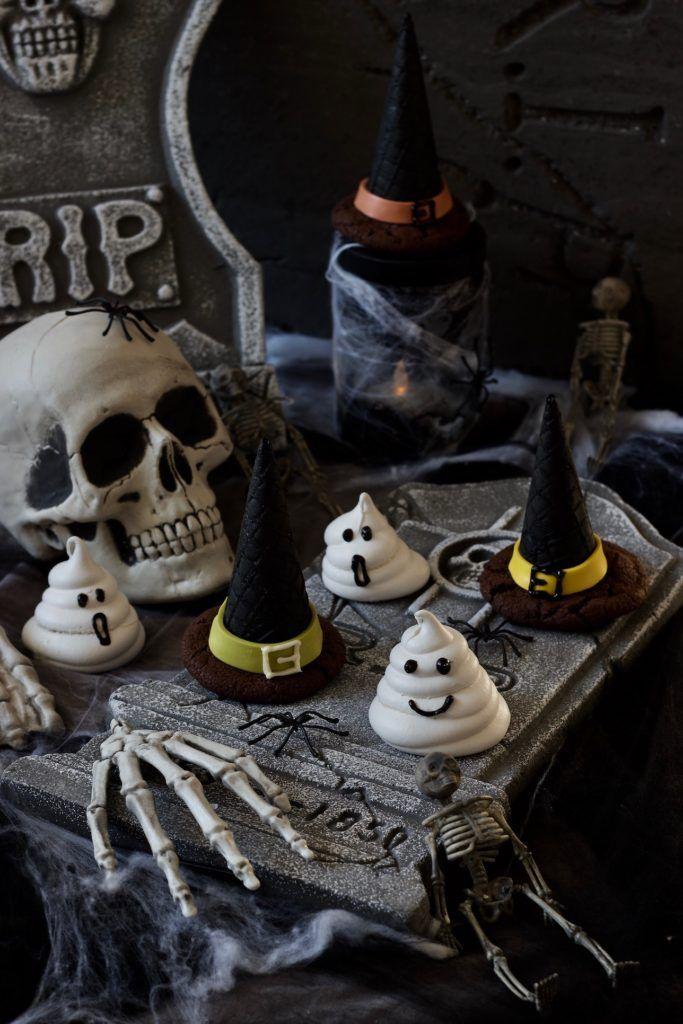 Gruselige Hexenhüte für Halloween nach einem Rezept von Sweets & Lifestyle®