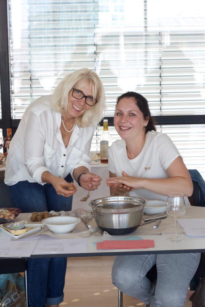 Konfektherstellung beim Konfektworkshop von Foodbloggerin Verena Pelikan von Sweets & Lifestyle®