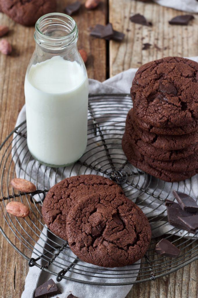 Leckere Double Chocolate Cookies nach einem Rezept von Sweets & Lifestyle®