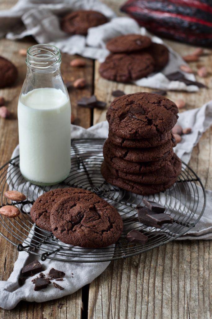 Leckere Schoko Cookies die schnell und einfach gemacht sind nach einem Rezept von Sweets & Lifestyle®