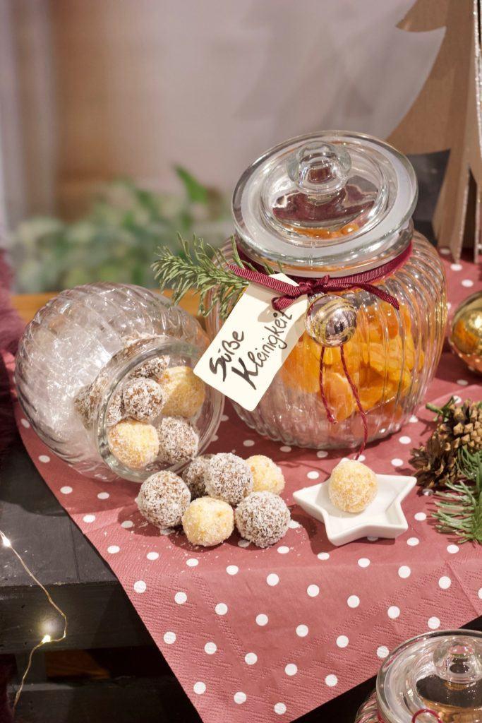 Selbst gemachtes Konfekt von Sweets & Lifestyle® als selbst gemachtes Weihnachtsgeschenk aus der Küche
