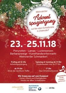 Sweets & Lifestyle® beim Adventspaziergang auf der alten Schiessstaette in Zistersdorf