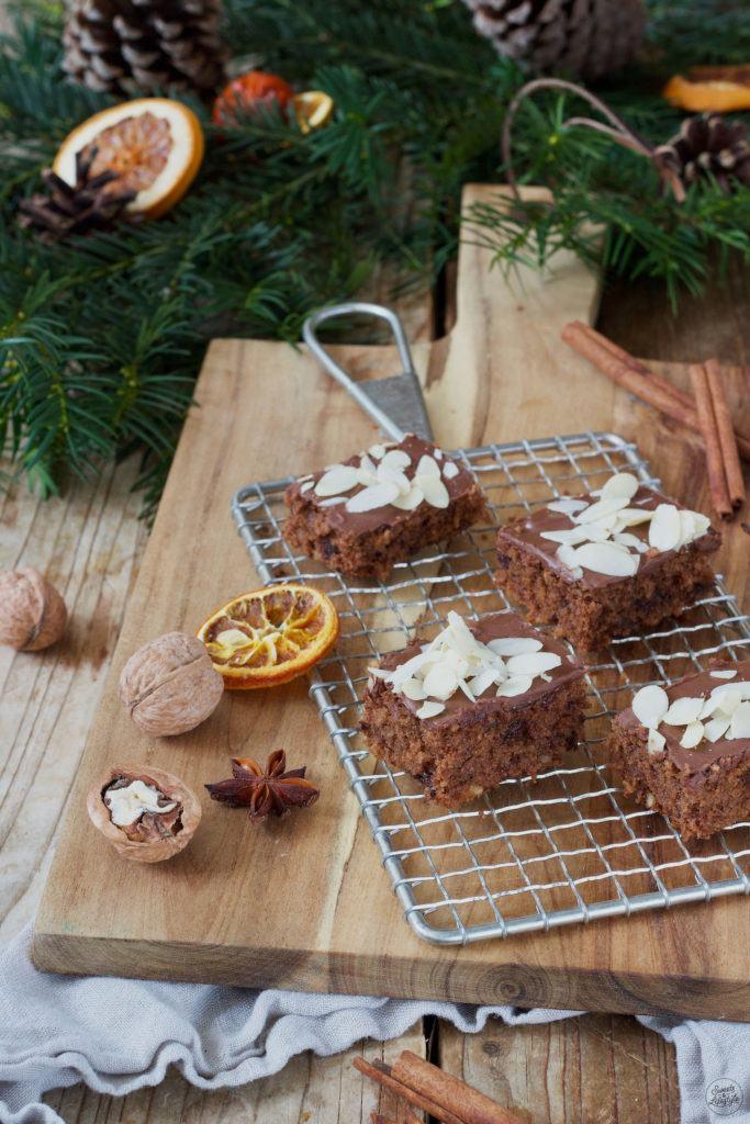 Einfacher Schokolebkuchen vom Blech nach einem Rezept von Sweets & Lifestyle®