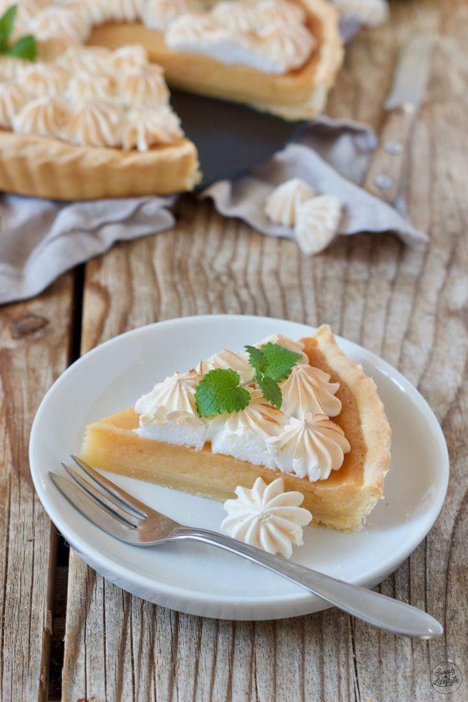 Herbstliche Quittentarte mit Baiser nach einem Rezept von Sweets & Lifestyle®