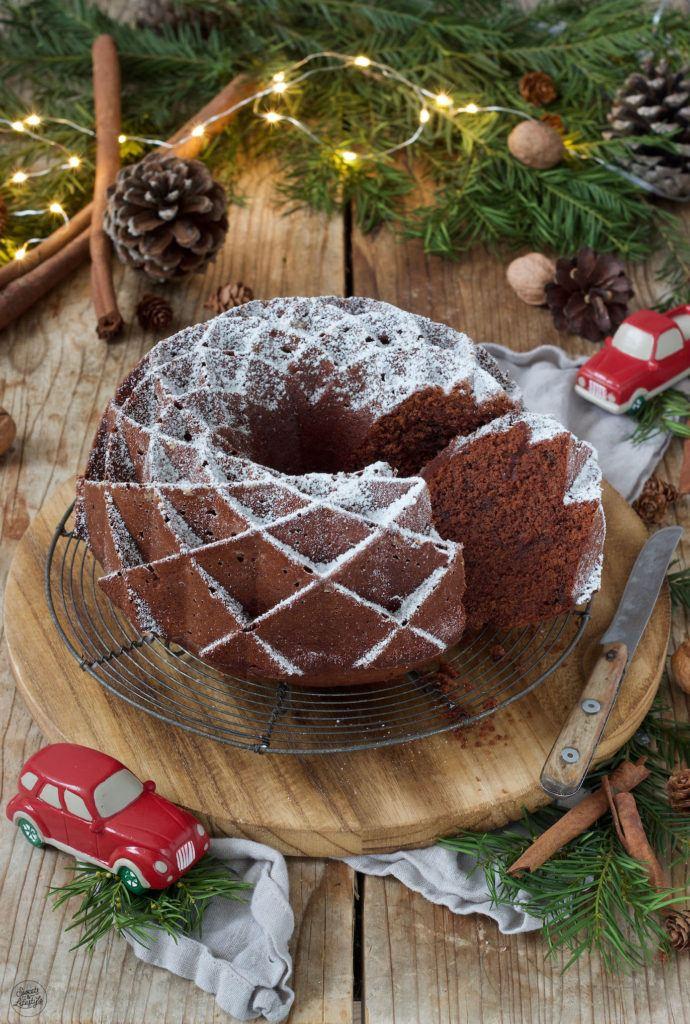 Einfacher Lebkuchen-Gugelhupf nach einem Rezept von Sweets & Lifestyle®