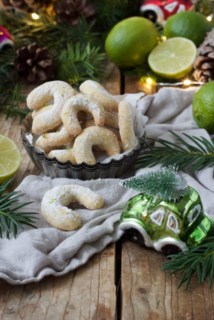Limetten Kipferl Rezept von Sweets & Lifestyle®