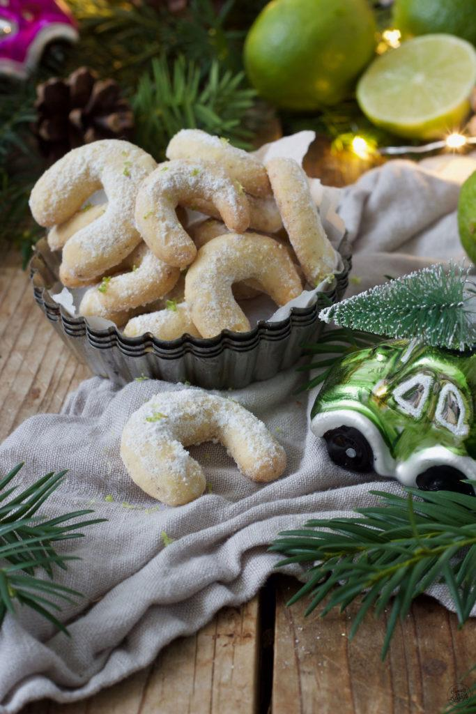 Leckeres Limetten Kipferl Rezept von Sweets & Lifestyle®