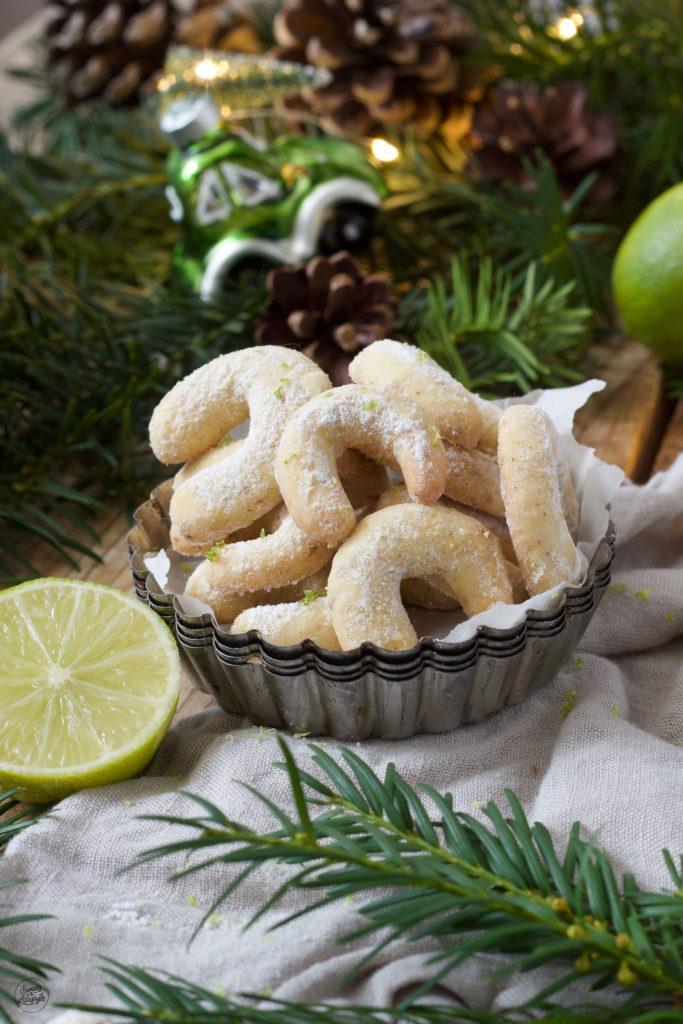 Erfrischende Limettenkipferl nach einem einfachen Rezept von Sweets & Lifestyle®