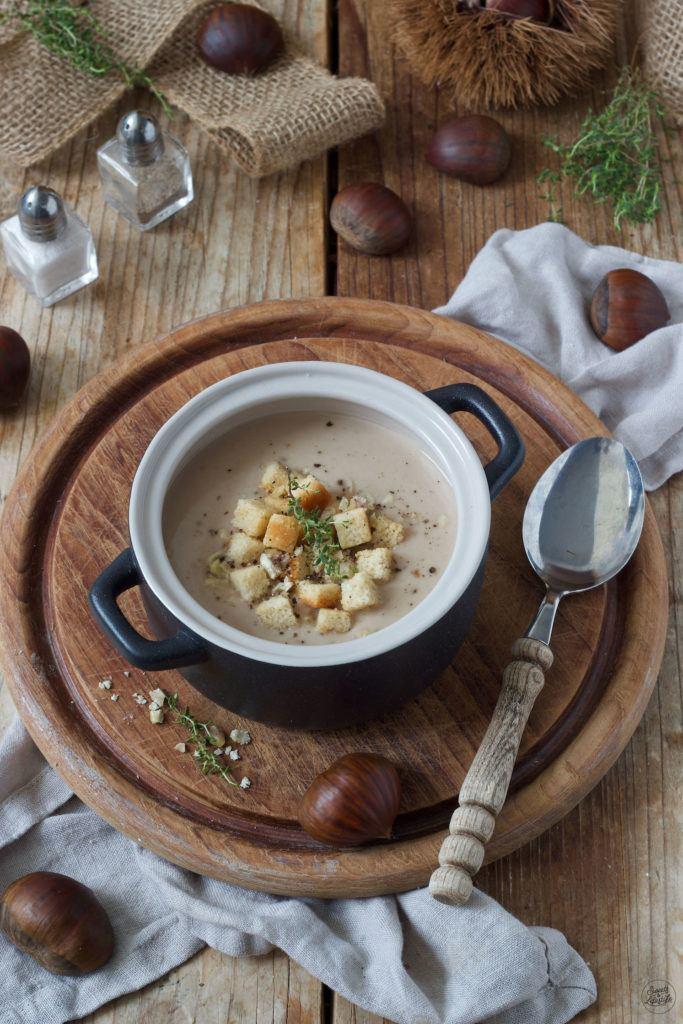 Schnelle Maronensuppe nach einem einfachen Rezept von Sweets & Lifestyle®