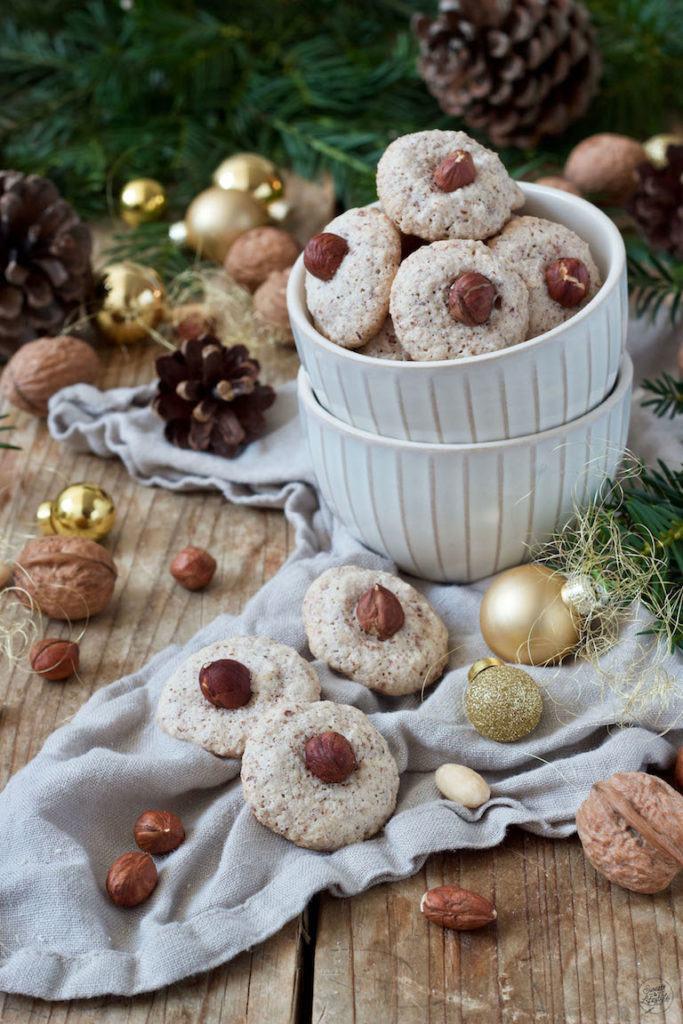 Weiche Nussbusserl als Eiweißverwertung nach einem Rezept von Sweets & Lifestyle®