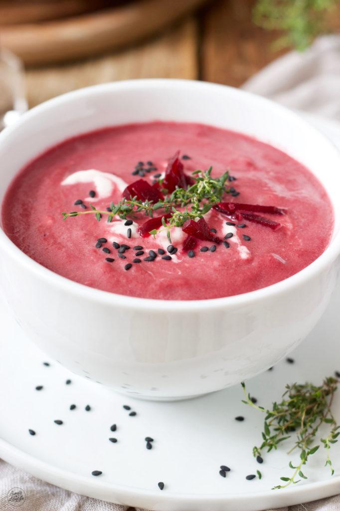 Rote Rüben Suppe nach einem Rezept von Sweets & Lifestyle®