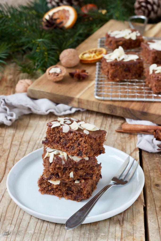 Saftiger Schokolebkuchen vom Blech nach einem Rezept von Sweets & Lifestyle®