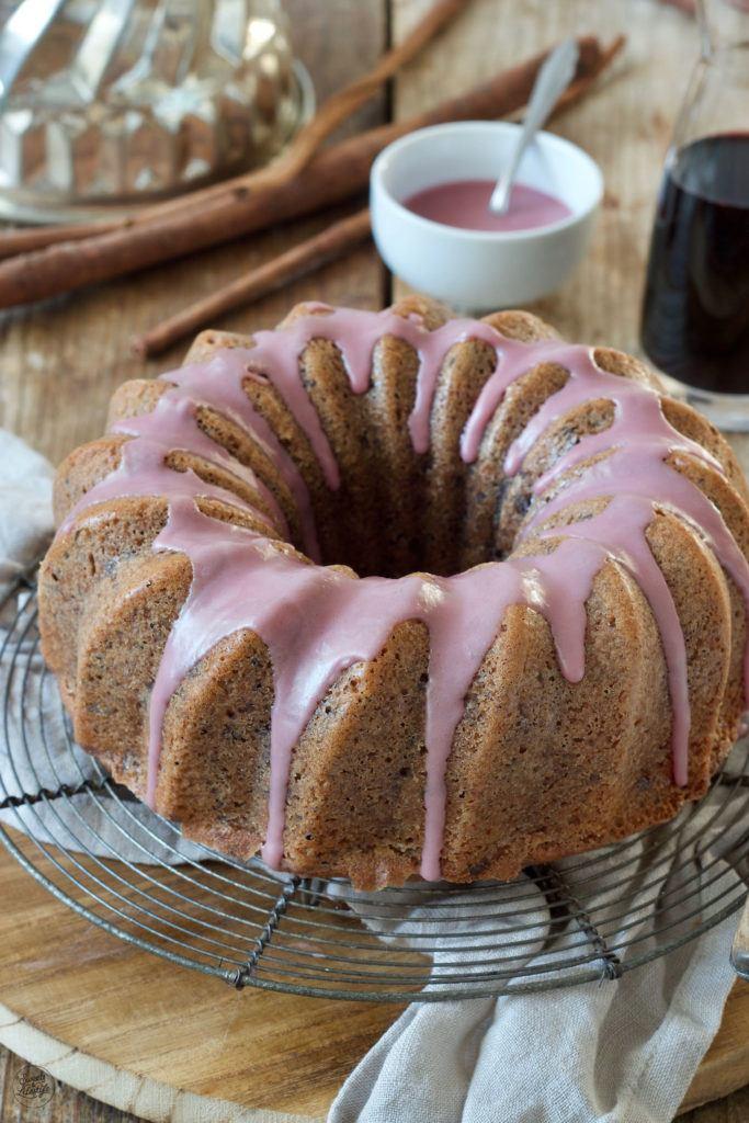 Schoko Rotweingugelhupf nach einem Rezept von Sweets & Lifestyle®️