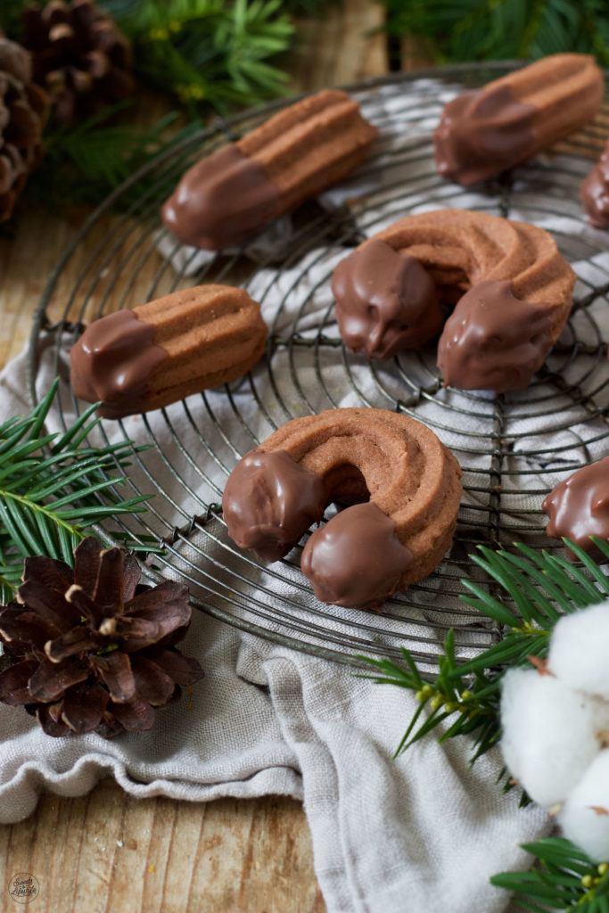 Schoko Spritzgebäck Rezept von Sweets & Lifestyle®