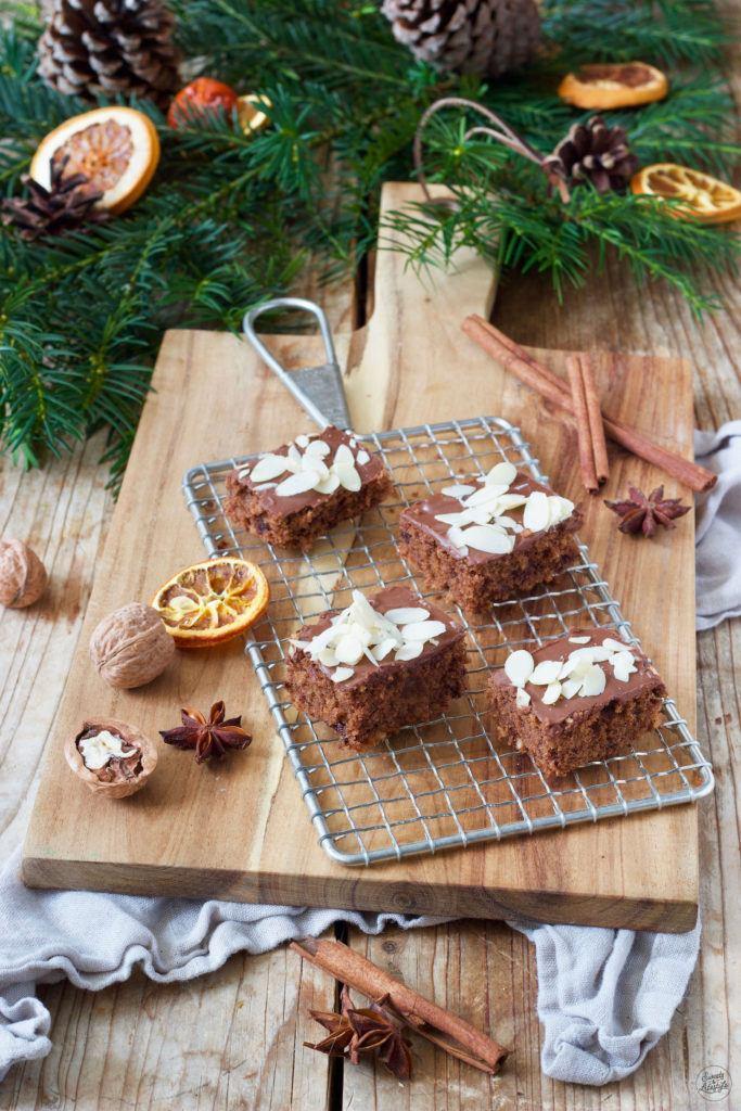 Leckerer Schokolebkuchen vom Blech nach einem Rezept von Sweets & Lifestyle®