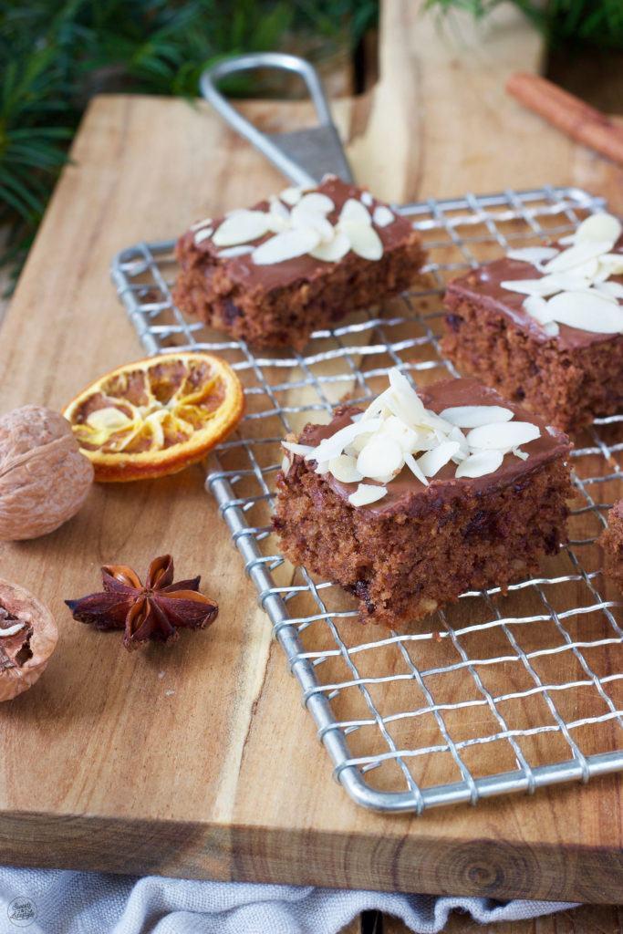 Schokolebkuchen vom Blech nach einem einfachen Rezept von Sweets & Lifestyle®