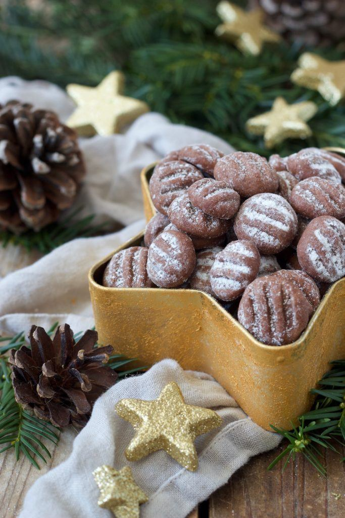 Schokopuddingskekse als Weihnachtskekse nach einem Rezept von Sweets & Lifestyle®