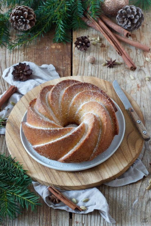 Leckeres Spekulatius-Gugelhupf Rezept von Sweets & Lifestyle®️