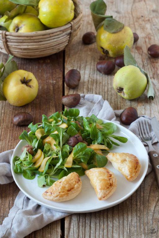 Teigtaschen gefüllt mit Quitte, Maroni und Ziegenkäse von Sweets & Lifestyle®