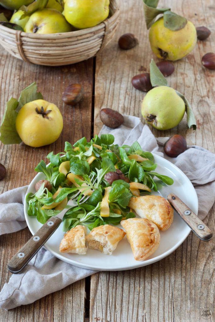 Teigtaschen mit Quitten-Maroni-Ziegenkäse-Füllung nach einem Rezept von Sweets & Lifestyle®