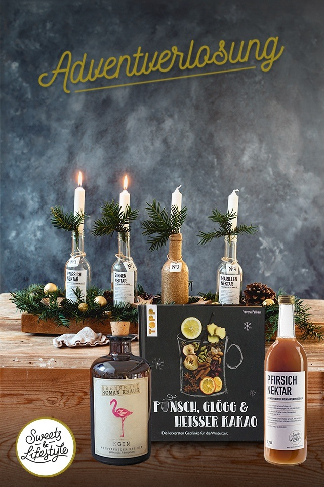 Glüh Gin Paket-Verlosung beim Adventgewinnspiel zum 2 Advent von Sweets & Lifestyle