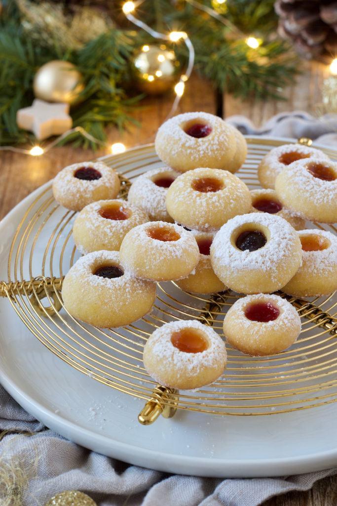 Engelsaugen als Weihnachtskekse nach einem Rezept von Sweets & Lifestyle®