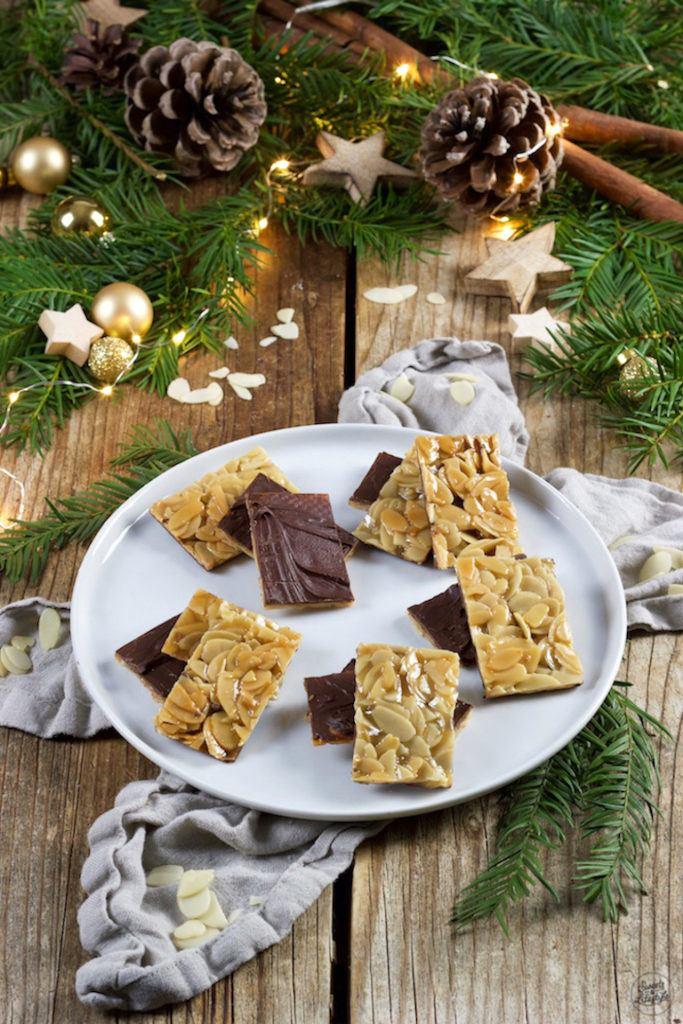 Leckere Florentiner Kekse als Weihnachtskekse nach einem Rezept von Sweets & Lifestyle®
