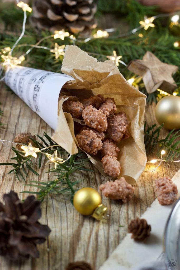Gebrannte Mandeln selber machen mit der Anleitung von Sweets & Lifestyle®