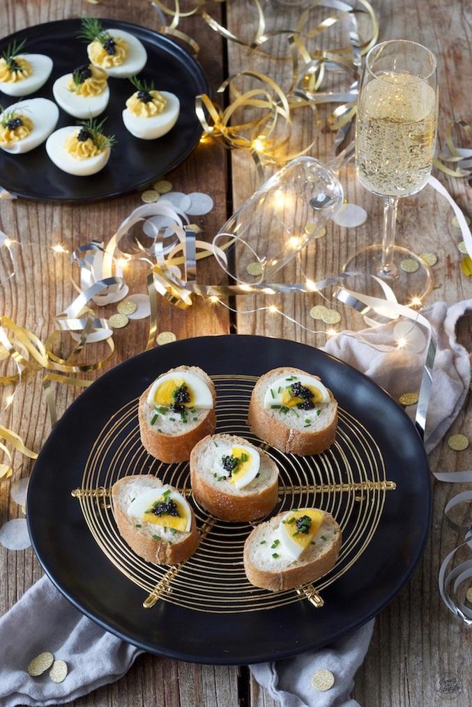Gefülltes Baguette mit Kaviar als Kaviar nach einem Rezept von Sweets & Lifestyle®