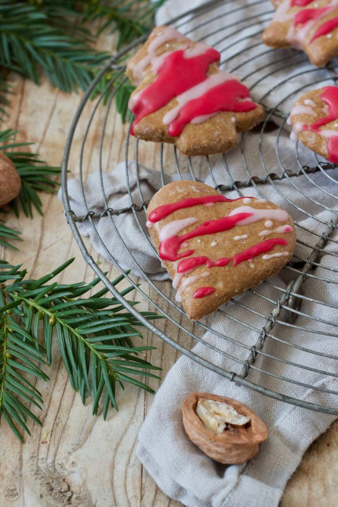 Lebkuchen mit Zuckerglasur nach einem Rezept von Sweets & Lifestyle®