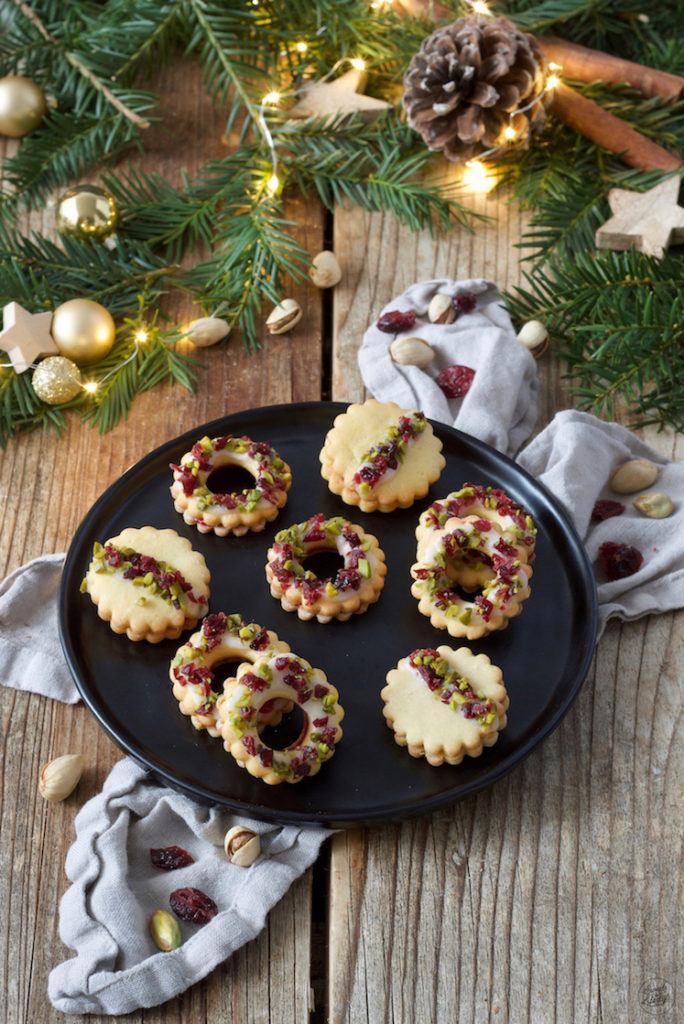 Pistazien-Cranberry-Kekse nach einem Rezept von Sweets & Lifestyle®