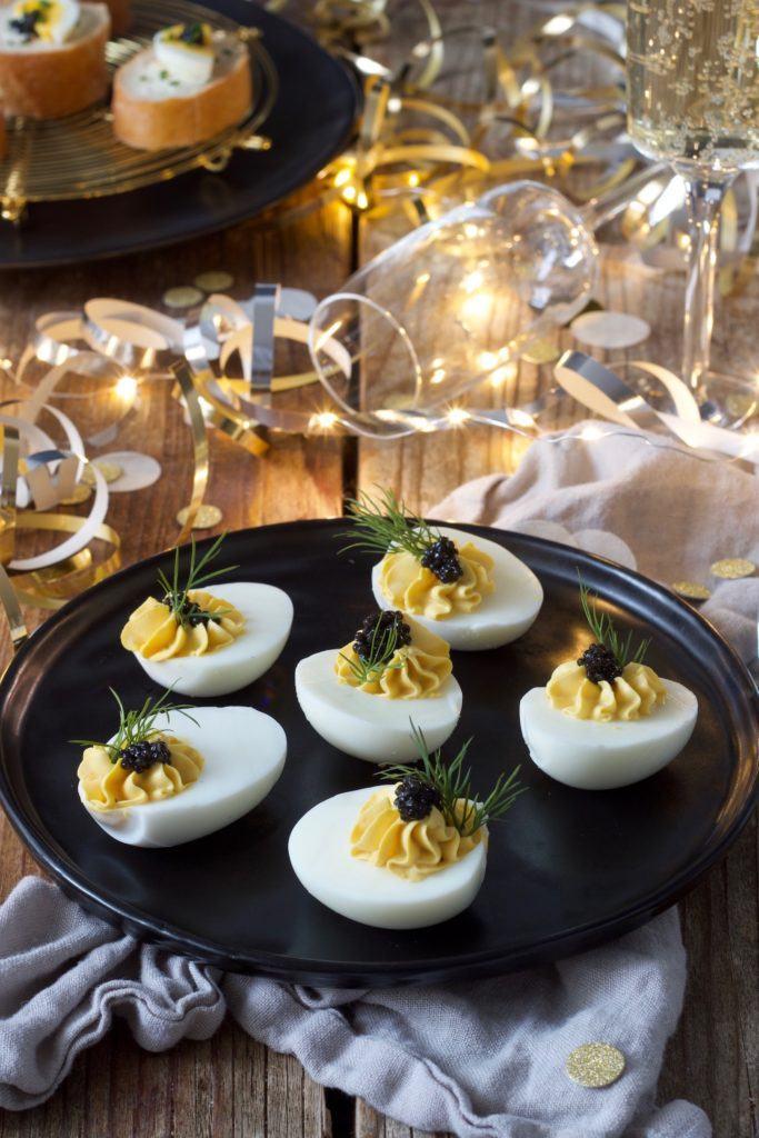 Russische Eier mit Kaviar ohne Mayonnaise nach einem Rezept vonSweets & Lifestyle®