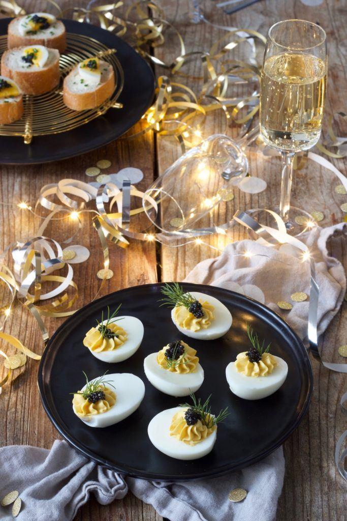 Russische Eier ohne Mayonnaise als Fingerfood nach einem Rezept von Sweets & Lifestyle®