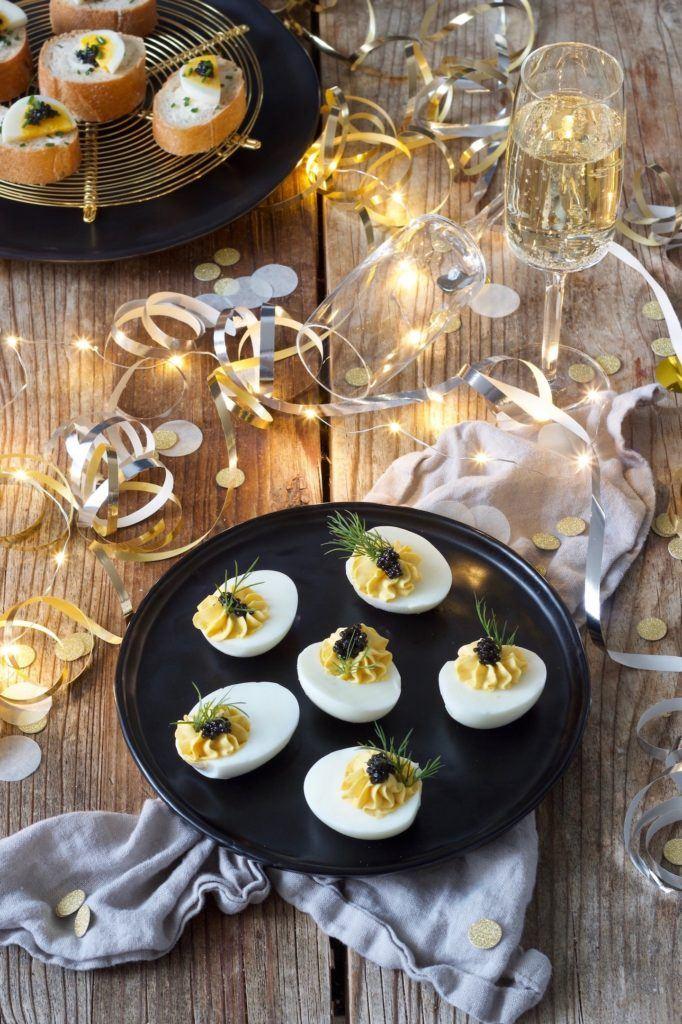 Russische Eier ohne Mayonnaise als Vorspeise nach einem Rezept von Sweets & Lifestyle®