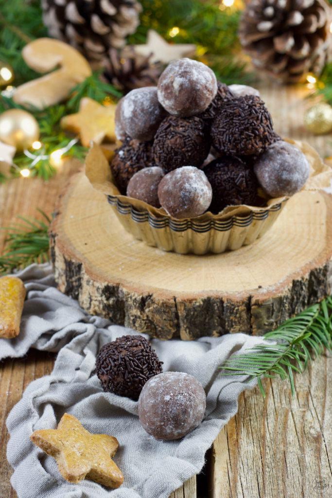 Selbst gemachte Lebkuchenkugeln nach einem Rezept von Sweets & Lifestyle®