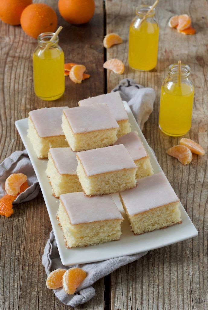 Leckerer Fantakuchen vom Blech einfach und schnell gemacht nach einem Rezept von Sweets & Lifestyle®
