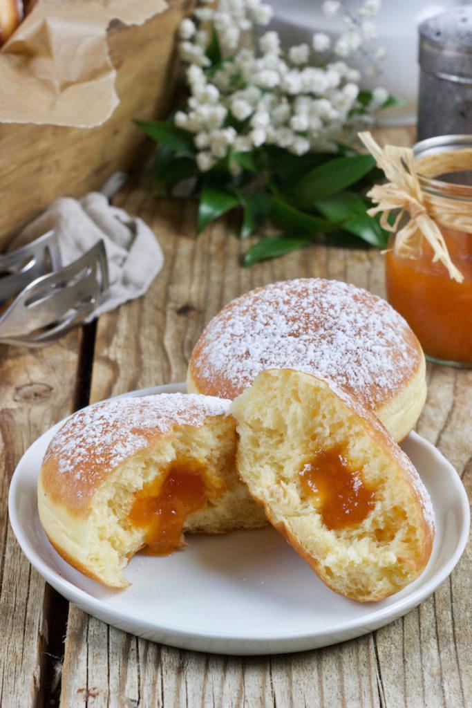 Leckeres Faschingskrapfen Rezept von Sweets & Lifestyle®️