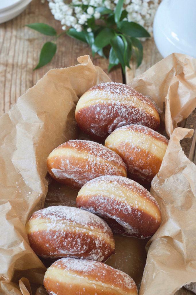 Faschingskrapfen, auch Berliner und Kreppel genannt, nach einem Rezept von Sweets & Lifestyle®️