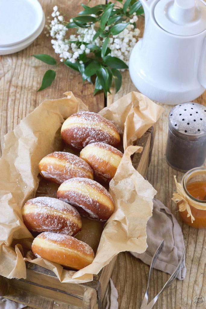 Kreppel (Faschingskrapfen) Rezept von Sweets & Lifestyle®️