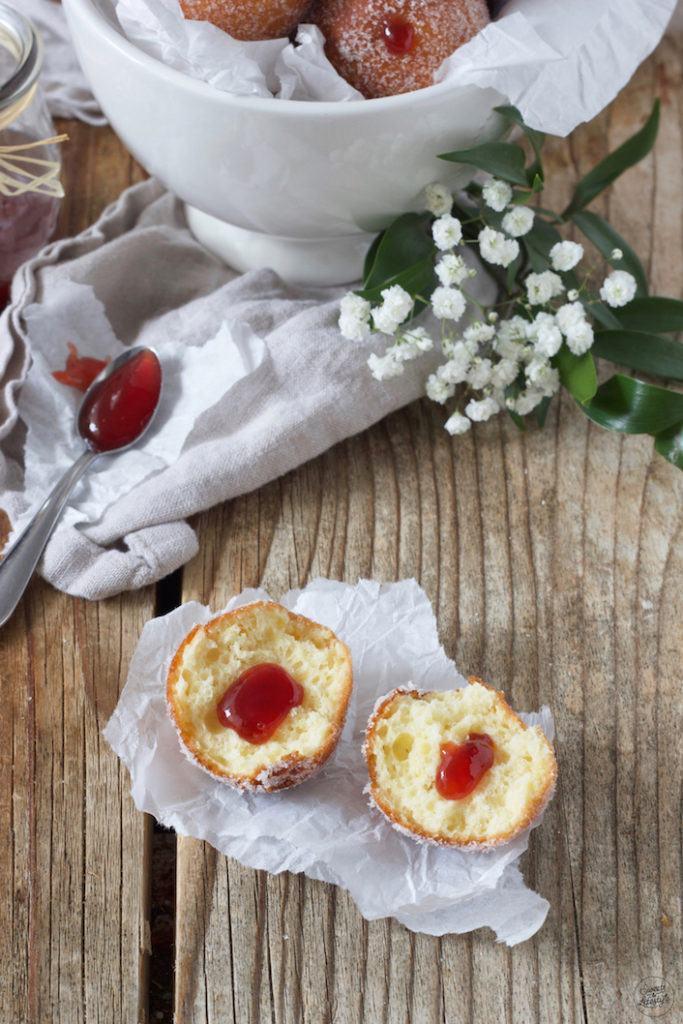 Leckere Topfenbällchen mit Marmelade gefüllt nach einem Rezept von Sweets & Lifestyle®️