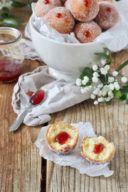 Mit Marmelade gefüllte Topfenbällchen nach einem einfachen Rezept von Sweets & Lifestyle®️