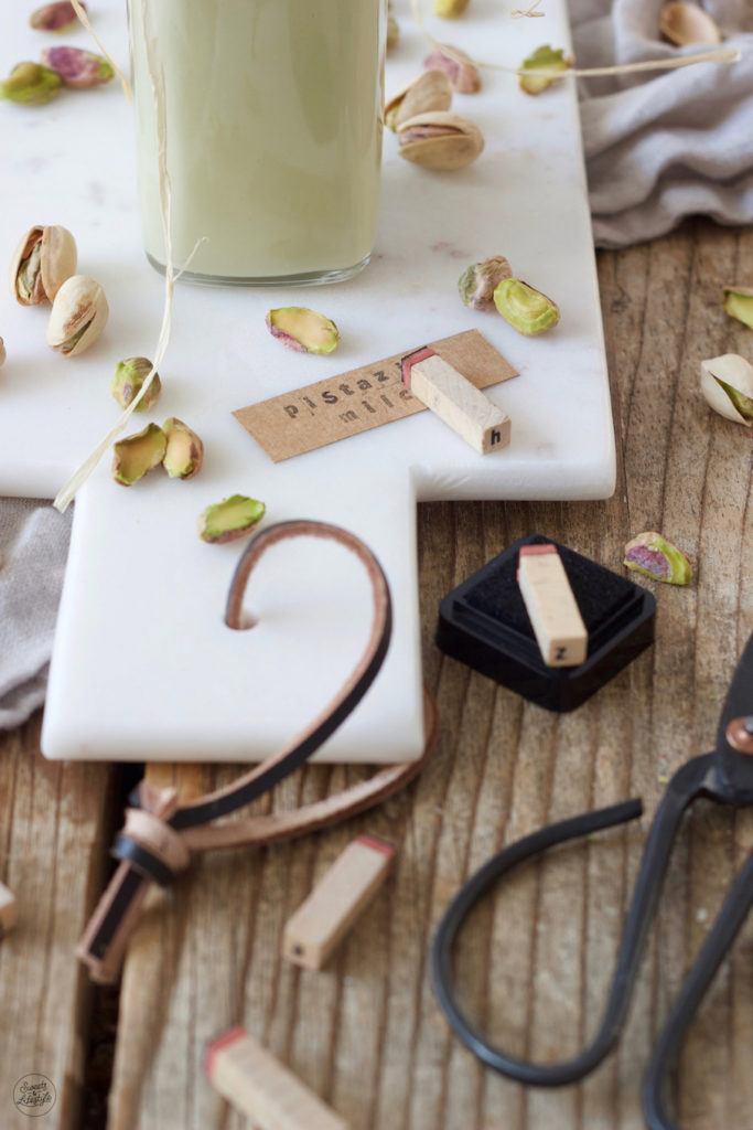 Cremige Pistazienmilch einfach selber machen nach den Rezept von Sweets & Lifestyle®