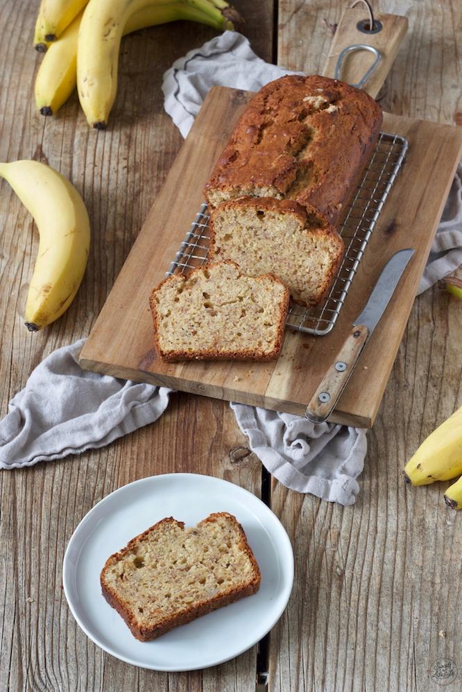 Saftiges Bananenbrot auch Banana Bread genannt nach einem Rezept von Sweets & Lifestyle®️