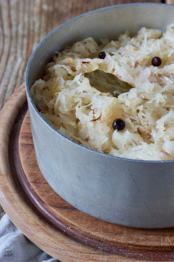 Frisches Sauerkraut richtig zubereiten nach dem Rezept von Sweets & Lifestyle®️