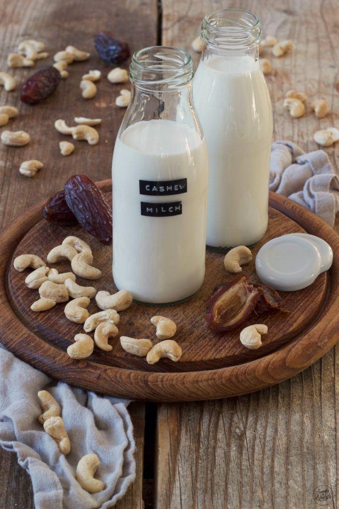 Cashewmilch selber machen nach dem Rezept von Sweets & Lifestyle®