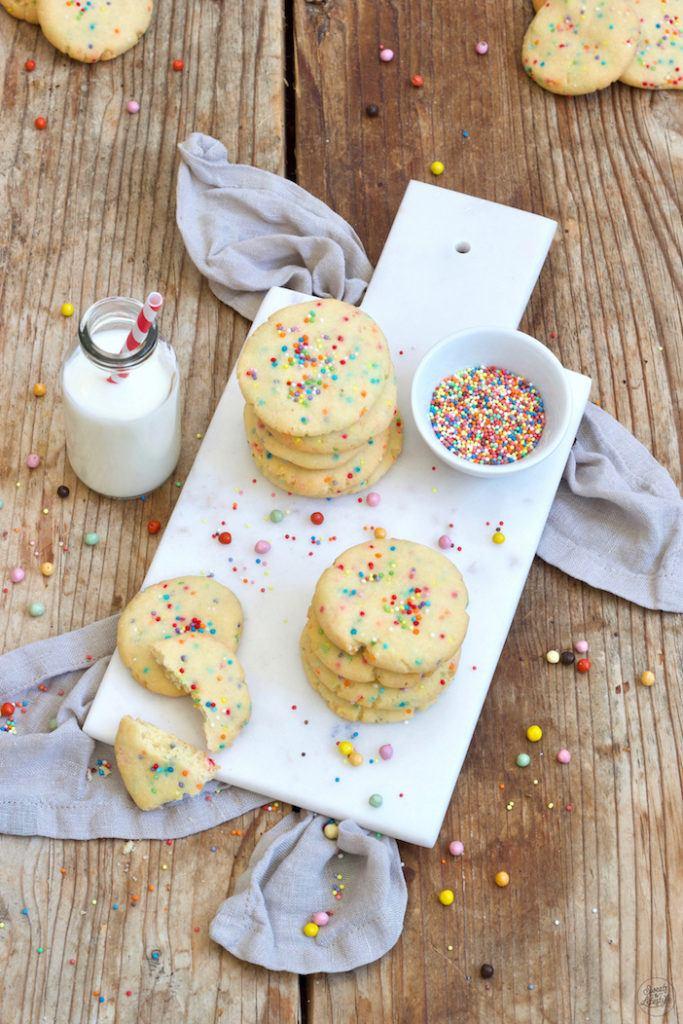 Einfaches Confetti Cookies Rezept von Sweets & Lifestyle®