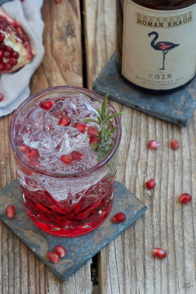 Granatapfel Gin Tonic Rezept von Sweets & Lifestyle®