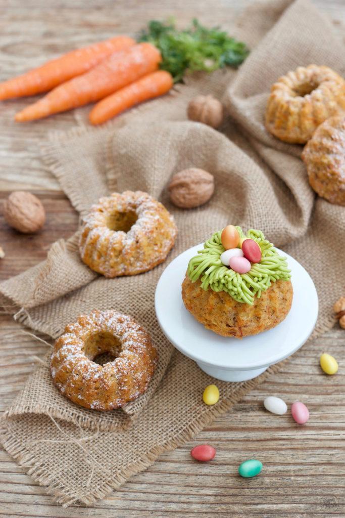 Saftiges Karotten-Minigugelhupf Rezept von Sweets & Lifestyle®