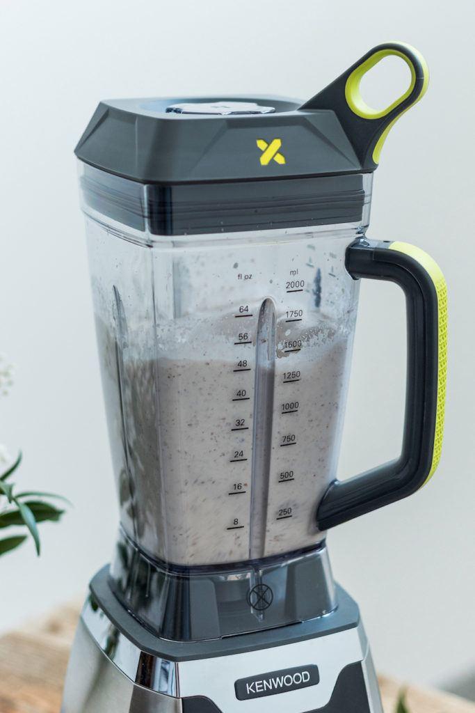 Mandelmilch herstellen wie Verena von Sweets & Lifestyle® mit dem Kenwood Blend-X PRO Standmixer